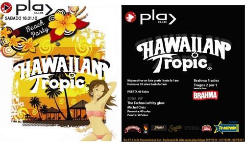 Miss Hawaiian Tropic - Discoteca Play Club