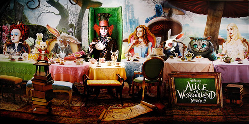 Tim Burton Alice In Wonderland Movie Standee Billboard 3275