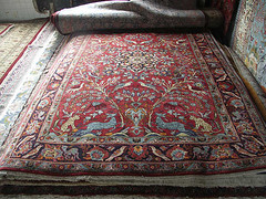 Tabriz Hunting Persian Rug Maryland (Carpetbeggers) Tags: horses cats cooking dogs shopping iran deer lions rugs tabriz qashqai tribalrugs huntingrug orientalrugsmaryland carpetbeggers persianrugsinbaltimore baltimorepersianrugs baltimoreorientalrugsorientalrugsbaltimore