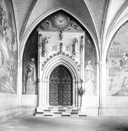 Catedral de Toledo a finales del siglo XIX. Fotografía de Alexander Lamont Henderson