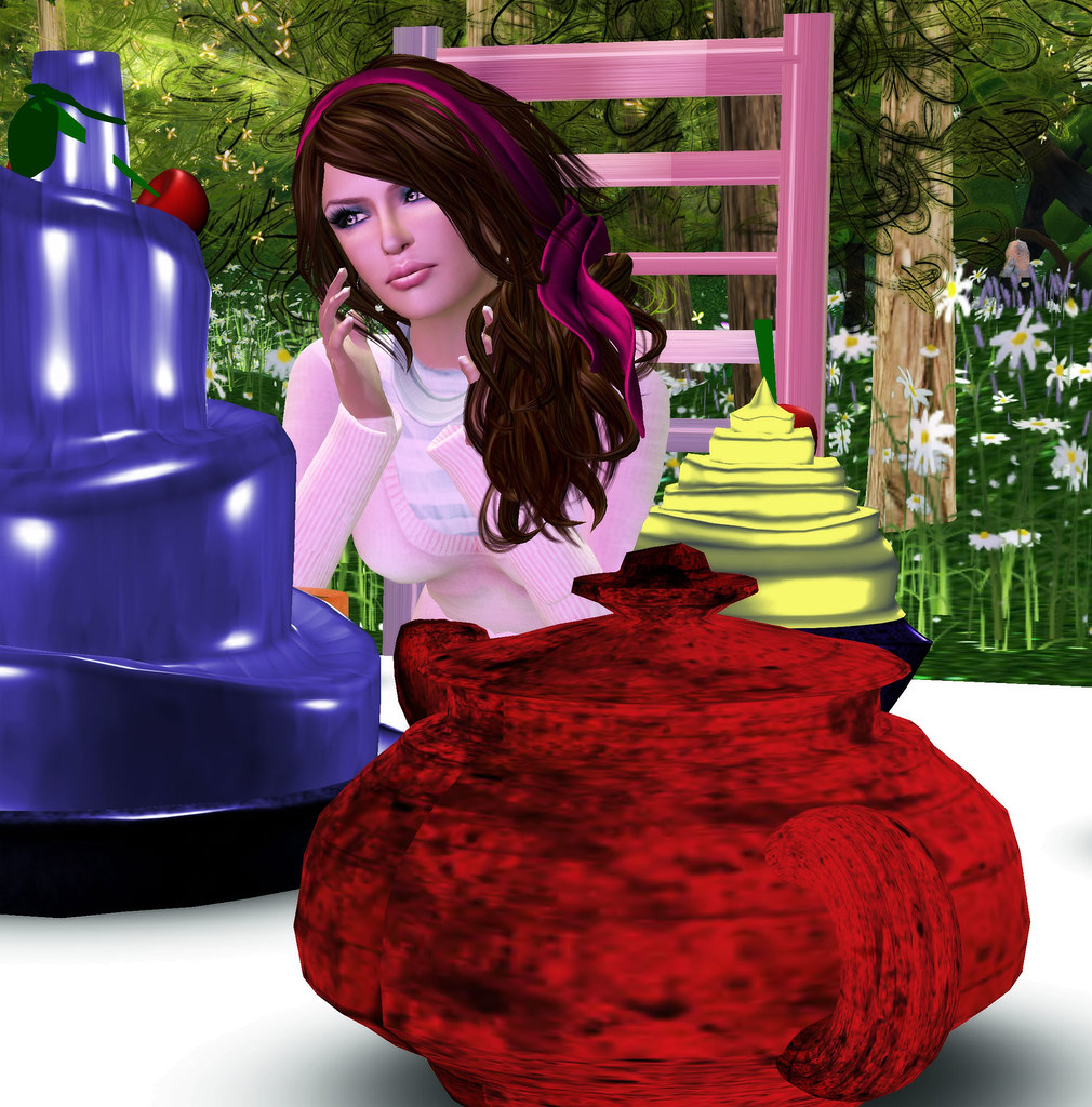 Join me for a tea party