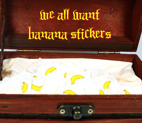 BANANA STICKERS!