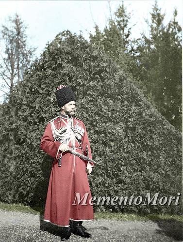 Nicholas II in Cossak Uniform