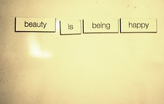 . ([ej photo]) Tags: woman white girl beautiful beauty happy idea words women body feminine being board letters magnets blank statement simple opinion