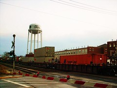 Eastbound Canadian Pacific freight train. Elmwood Park Illinois. March 2008.