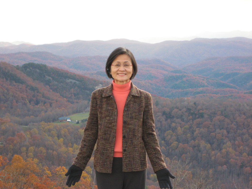Mom in the Blue Ridge Mountains
