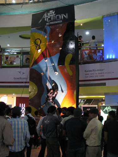 Artificial Climbing Wall Bangalore Artwork 2