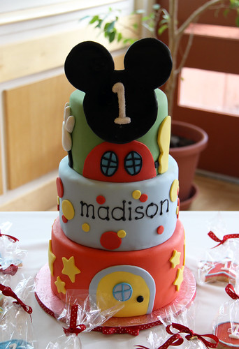 Madison's Mickey Mouse Clubhouse 1st Birthday