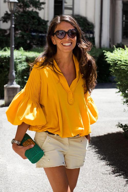 viviana-volpicella1 - yellow shirt