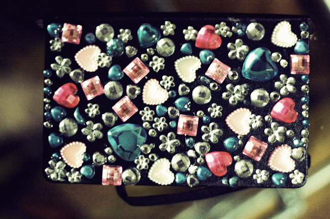 Bejeweled Moleskine