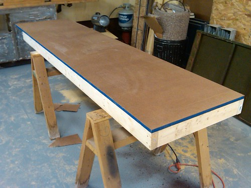 Miter Saw Station Base W.Sacrificial Top