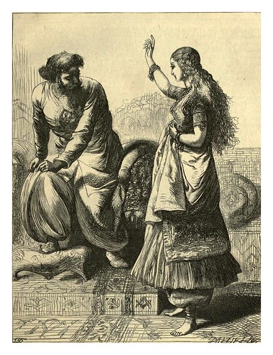 018-Fetnab y el Califa-T. Dalziel-Dalziel's Illustrated Arabian nights' entertainments (1865)