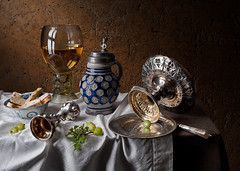 Gooseberry Still Life (kevsyd) Tags: stilllife roemer tazza westerwald goosberry pieterclaesz kevinbest