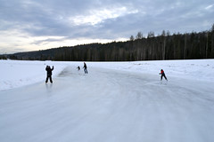 Outdoor Ice Oval