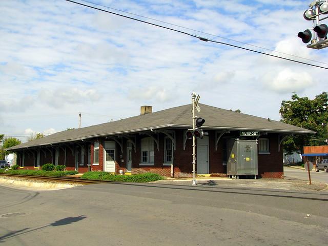 Newport, TN Train Depot