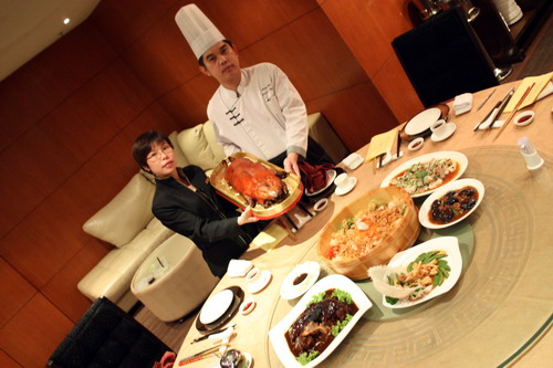 Grand Imperial CNY Dishes