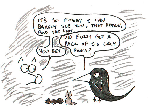 366 Cartoons - 353 - Coyote and Raven
