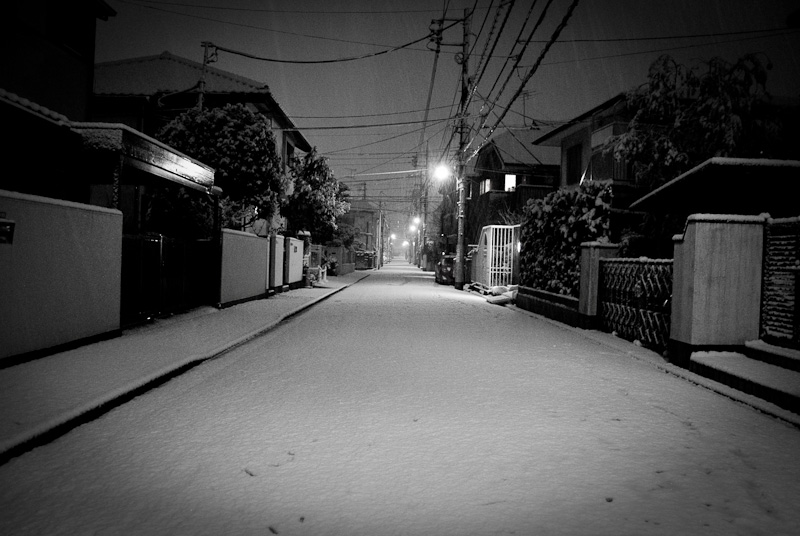 Meguro Snow Street_6991