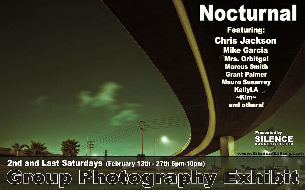February 13th - 27th Group Show...Nocturnal!!!