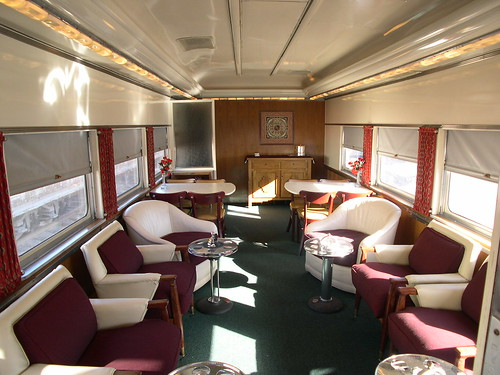 Private Rail Car - Vista Canyon, lounge