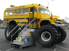1956 Chevrolet School Bus (Custom) 2 (Jack Snell - Thanks for over 21 Million Views) Tags: school bus chevrolet bad bone 1956 schoolbus custom