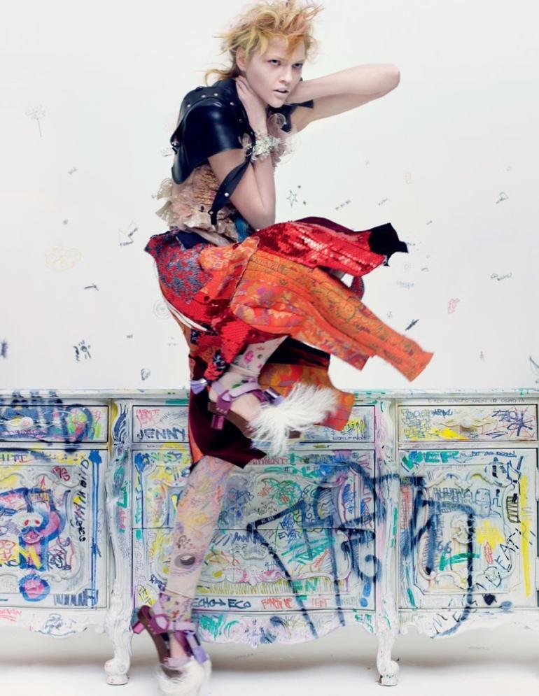 Interview February Sasha Pivovarova by Craig McDean 3