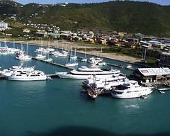 Yachts at Charlotte Amalie