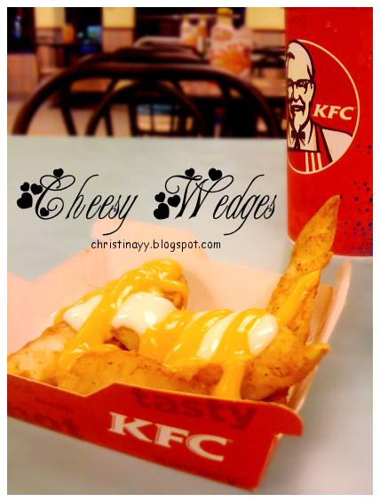 KFC Cheesy Wedges