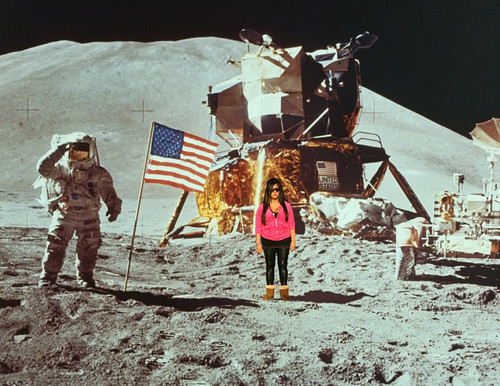 Snookie on the moon