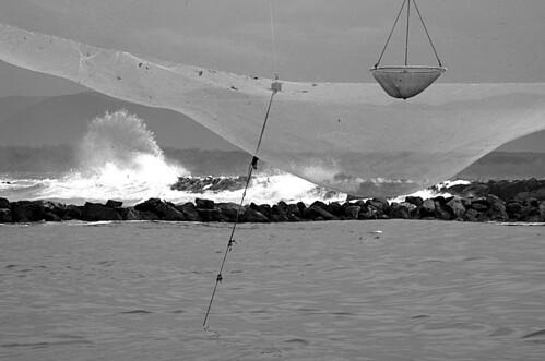A pesca di onde