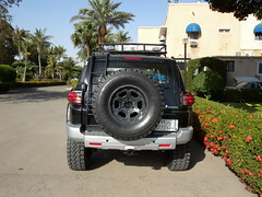 after rollover 6 (shine_on) Tags: desert offroad 4x4 dunes toyota jeddah suv fj landcruiser saudiarabia cruiser  fjcruiser flashfloods    bahra    feshfesh