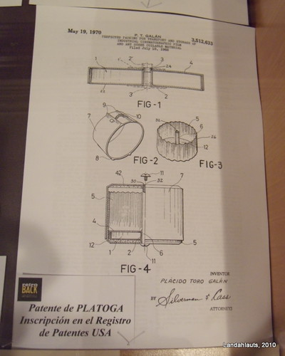 Patente de PLATOGA