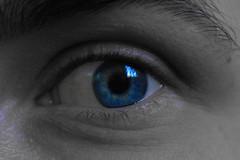 Auge (Angelina Hild) Tags: blue eye blau auge