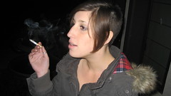 IMG_0878 (raiH enaS) Tags: haircut hair brittany shaved smoking short shorthair buzzednape