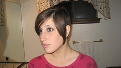IMG_0872 (raiH enaS) Tags: haircut hair brittany shaved smoking short shorthair buzzednape