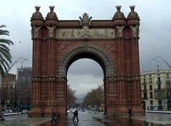 Arc del Triomf, Barcelona, Catalunha.