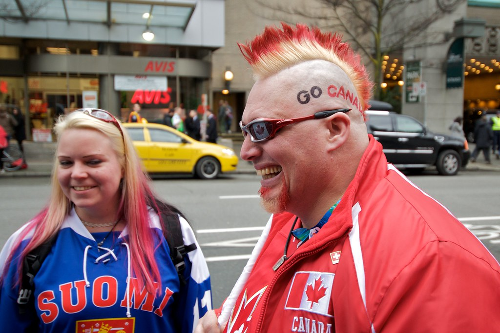 Red Mohawk Go Canada!