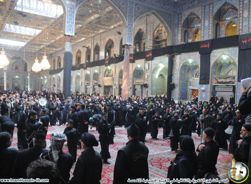 عزاء احد المواكب الحسينية في يوم 28 صفر 1431هـ