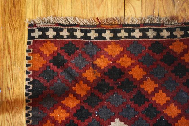 new vintage kilim rug