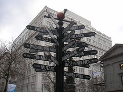 Directions at Pioneer Square