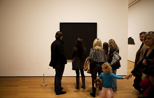 A Black Square: Snapshots at the Museum of Modern Art