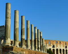 Entrance to the Roman Forum (Kaipullai(கைப்புள்ள)) Tags: italy rome forum colosseum panasoniclumixdmcfz18