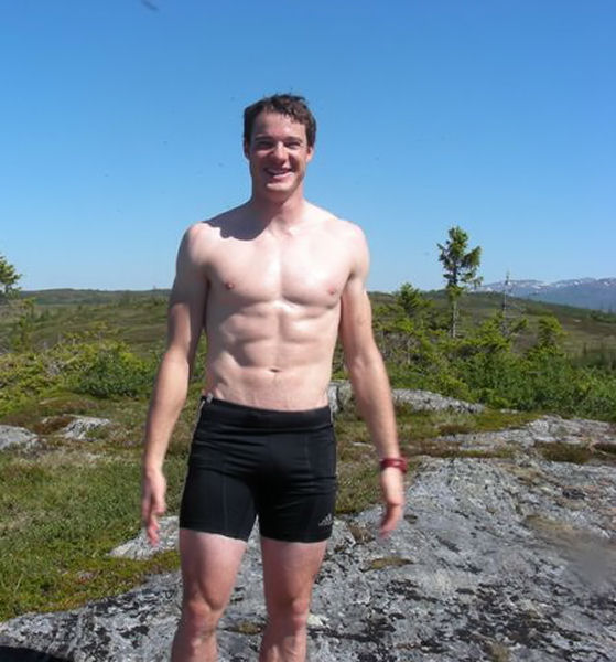 Dario Cologna shirtless