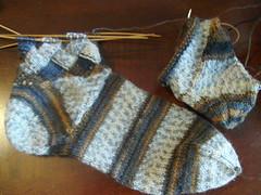 Ravelympics Socks