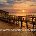 "Cocoa Beach wharf sunset<br /><span style=""font-size:0.8em;"">Cocoa Beach wharf sunset</span>"