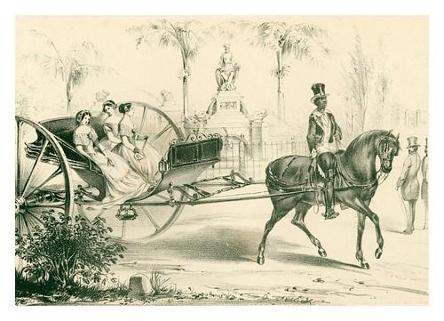 013- El Quitrin cubano-Álbum pintoresco de la Isla de Cuba- 1853