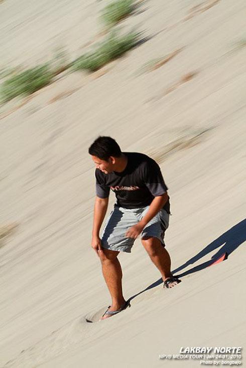 Ferdz Sandboarding