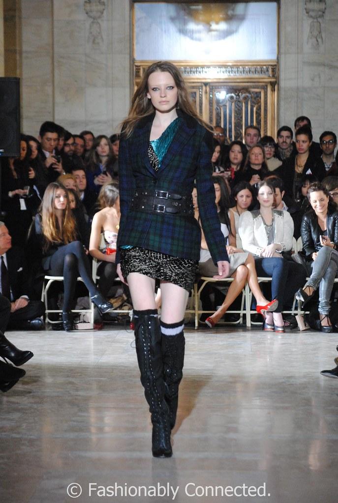 Jill Stuart Plaid Jacket