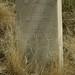 Headstone of Civil War Veteran Lieutenant John Thompson, Boise Barracks Military Cemetery, Boise, Id.