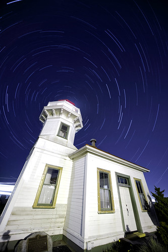 Mukilteo Lighthouse Startrails